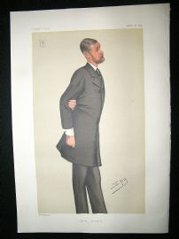 Vanity Fair Print: 1879 Tatton Sykes, Artist